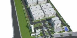 Apartamento 2Q, Minha Casa Minha Vida, Entrada em 60x, no Coophema