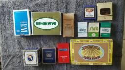 Coleção de Maços de Cigarro