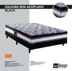 Super Promoção* - Colchão Box Casal Acoplado Black R$ 429,00