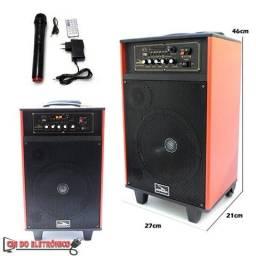 Caixa de Som Portatil Bluetooth c/ Microfone (D-BH3202)
