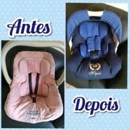 Capas personalizadas para bebê conforto