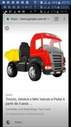 Caminhão de pedal novo