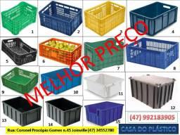 Caixas plasticas