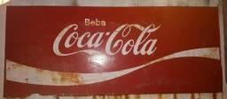 Placa coca cola