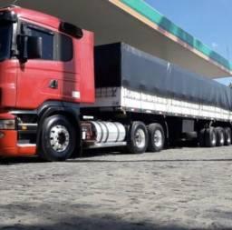 Caminhão Scania R420 6x2 2011 e Graneleiro Guerra 2011 - 2011