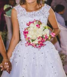 Vestido de noiva + Anágua de brinde