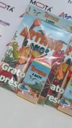 Kit de colorir Contém 12 desenhos do tema A primeira folha do livrinho vai personalizada