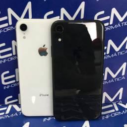 Hoje - IPhone XR 128 preto/Branco - Seminovo - com nota e garantia, somos loja fisica