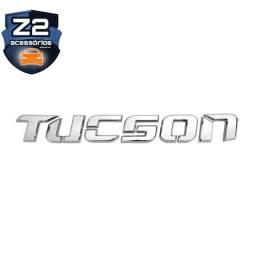Emblema Letreiro Do Porta Malas - Tucson 2006 A 2017 Cromado