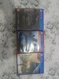 Kit 3 jogos PS4