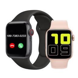 Relógio Inteligente Smartwatch Iwo X7 Bluetooth Faz Ligações e Foto na Tela