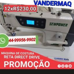 Reta industrial direct drive 12x R$230,00