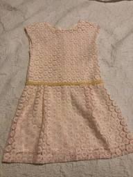 Vestido infantil Zara, tamanho 9/10 anos