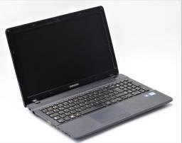 """Título do anúncio: Notebook Samsung 270 E5EV core i3 500GB HD 4GB ram Tela 15"""" NF até 12x"""