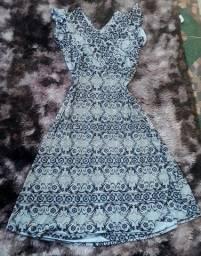 Vestido Fabiana Karla - XG Hiroshima Seminovo