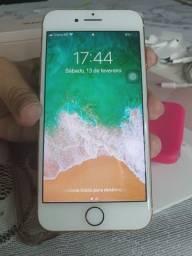 IPhone 8 Rose, aceito cartão