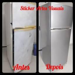 Título do anúncio: Envelopamento de geladeira entre outros