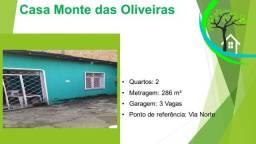 Título do anúncio: casa no monte das oliveiras, próx. ao via norte