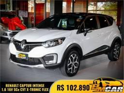 Título do anúncio: Renault CAPTUR Intense 1.6 16V Flex 5p Aut. 2021 Flex