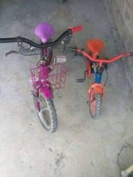 Vendo as duas bicicletas aro 16 aro 12!vendo as duas juntas!