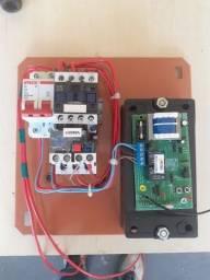 Quadro para acionamento de bomba por controle remoto