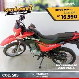 Honda NXR Bros 160 19/19- Seminovos Mônaco