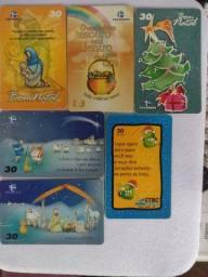 Título do anúncio: Cartões telefônicos Natal