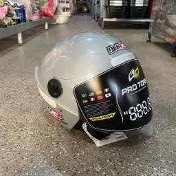 Título do anúncio: Super promoção de capacete novo New Liberty 3 Cor cinza