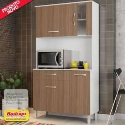 Título do anúncio: Cozinha Madine Paqueta Plus Branco/Montana 910 4portas 1gaveta