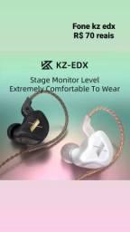 KZ EDX, com microfone