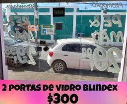 Título do anúncio: Portas de vidro Blindex