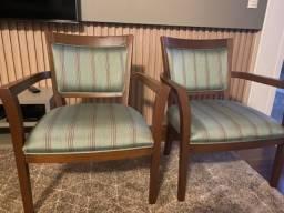 Título do anúncio: Cadeiras - conjunto com 2 cadeiras
