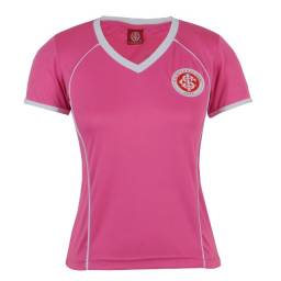 Camisa Internacional Rosa Baby Look Feminina Oficial Inter do P ao EGG Nova