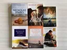 Kit 6 Livros Nicholas Sparks
