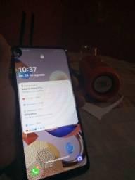 Título do anúncio: Smartfone LG k51S titânio