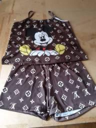 Pijamas  e kits para casais , vários  temas