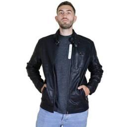 Título do anúncio: Jaqueta De Couro Masculina Motoqueiro Forrada Super Promoção