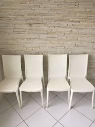 Título do anúncio: Cadeiras tramontina Laura ratan