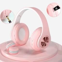 Título do anúncio: Fone de Ouvido Headphone Bluetooth inPods Boom Rosa