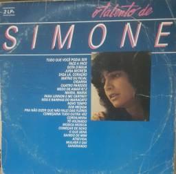 Disco de Vinil Duplo - O Talento de Simone - 25 Músicas maravilhosas!