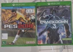 Vendo, jogos de Xbox One, novos lacrados por R$30,00 cada.