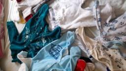 Lote roupa de bebê