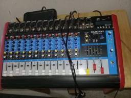 Mesa De Som Amplificada Soundvoice Ma 1230 X