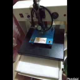 Máquina de estampa camisetas