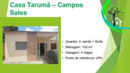 Título do anúncio: casa no tarumã - R$ 220 mil