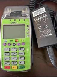 Máquina débito e crédito Banrisul