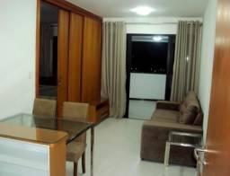 AP0389 Apartamento, 1 quarto mobiliado, infraestrutura de clube,Caminho das Árvores, Cond