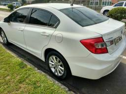 Honda Civic impecável aceito troca por caminhonete - 2013