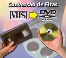 Passo VHS para DVD
