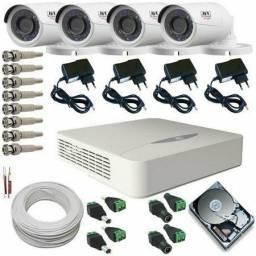Câmeras de Segurança JFL HD kit 4